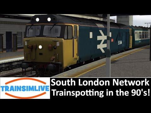 Let's Play Train Simulator 2016 - South London Network Trainspotting!