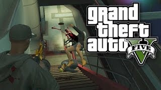 GTA 5 Online Let's Play - SUBWAY SHOOTOUT! (GTA V Online)
