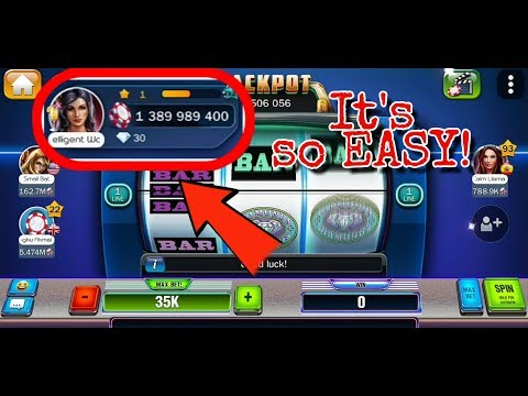 HUUUGE Casino   How To Win First Billion Chips From New Account With Huuuge Diamond Slot.