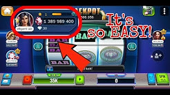 HUUUGE casino | How to win first billion chips from new account with Huuuge Diamond Slot.