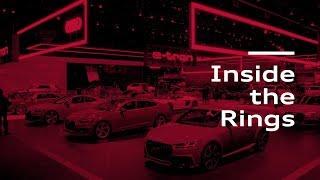 homepage tile video photo for Inside the Rings: LA Auto Show / Audi e-tron SUV / 2019 A6 / 2019 A7