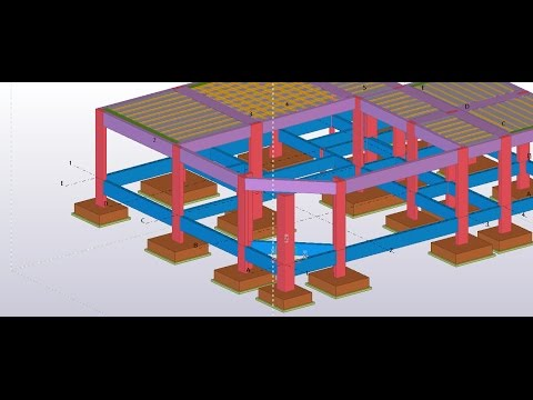 tekla structure - concrete building (1)