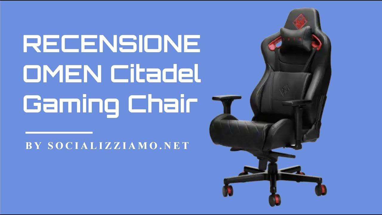 Recensione HP Omen Citadel Gaming Chair, sedia per il ...