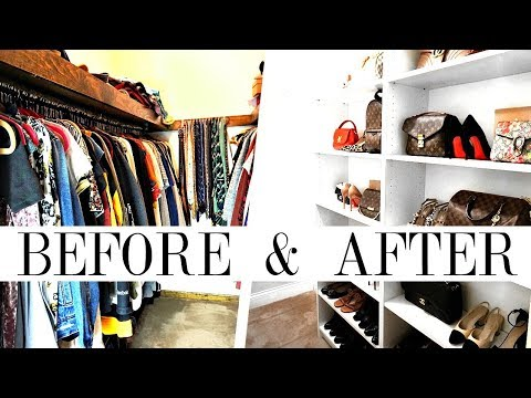 HOW TO MAKEOVER YOUR CLOSET | Handbag, Shoe & Clothing Organ