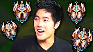 What happens when RYAN HIGA queues up with 4 Challenger players...?