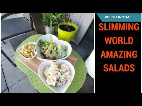 Slimming World Summer Salads - Weigh In Time
