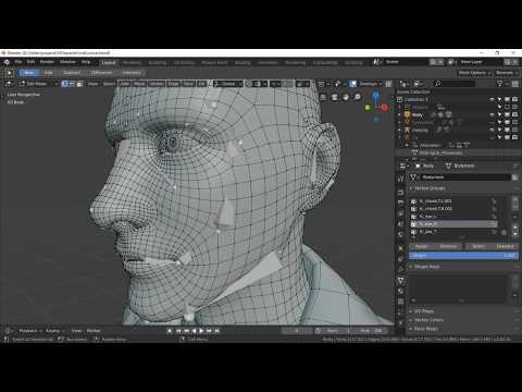 Uefy Script: Make Blender's rigify addon compatible for Unreal