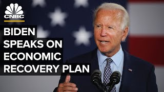 Democratic candidate Joe Biden speaks about his plan for economic recovery — 7/14/2020