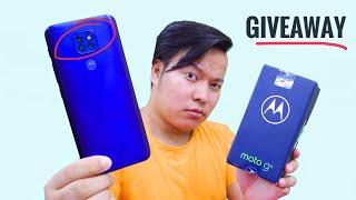 Motorola Moto G9 Unboxing : New ₹11,499 Smartphone + Giveaway