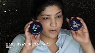 One Brand Tutorial | Blue Heaven | EVERYTHING UNDER RS. 200! | Mini Reviews