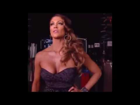 WWE Diva Eve Torres Hot Boobs And lesbians...