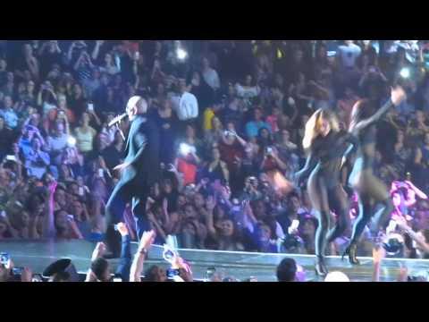 Pitbull at TD Garden Boston 9/27/14