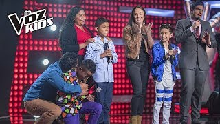 Tercera noche de rescates en La Voz Kids - Rescates | La Voz Kids Colombia 2018