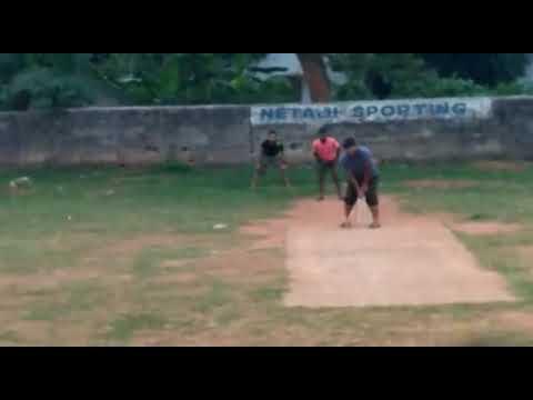 out swing bowling in tennis ball  NETAJI SPORTING BHUBANESWAR