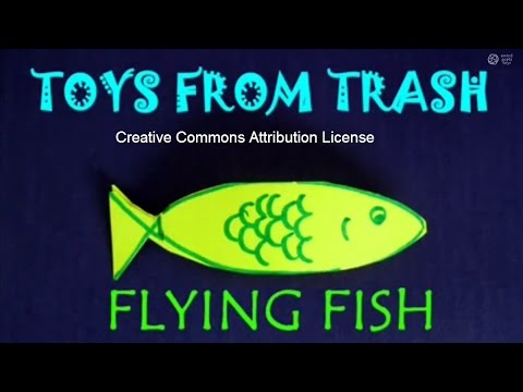 FLYING FISH - TAMIL - Simplest Flying Toy!