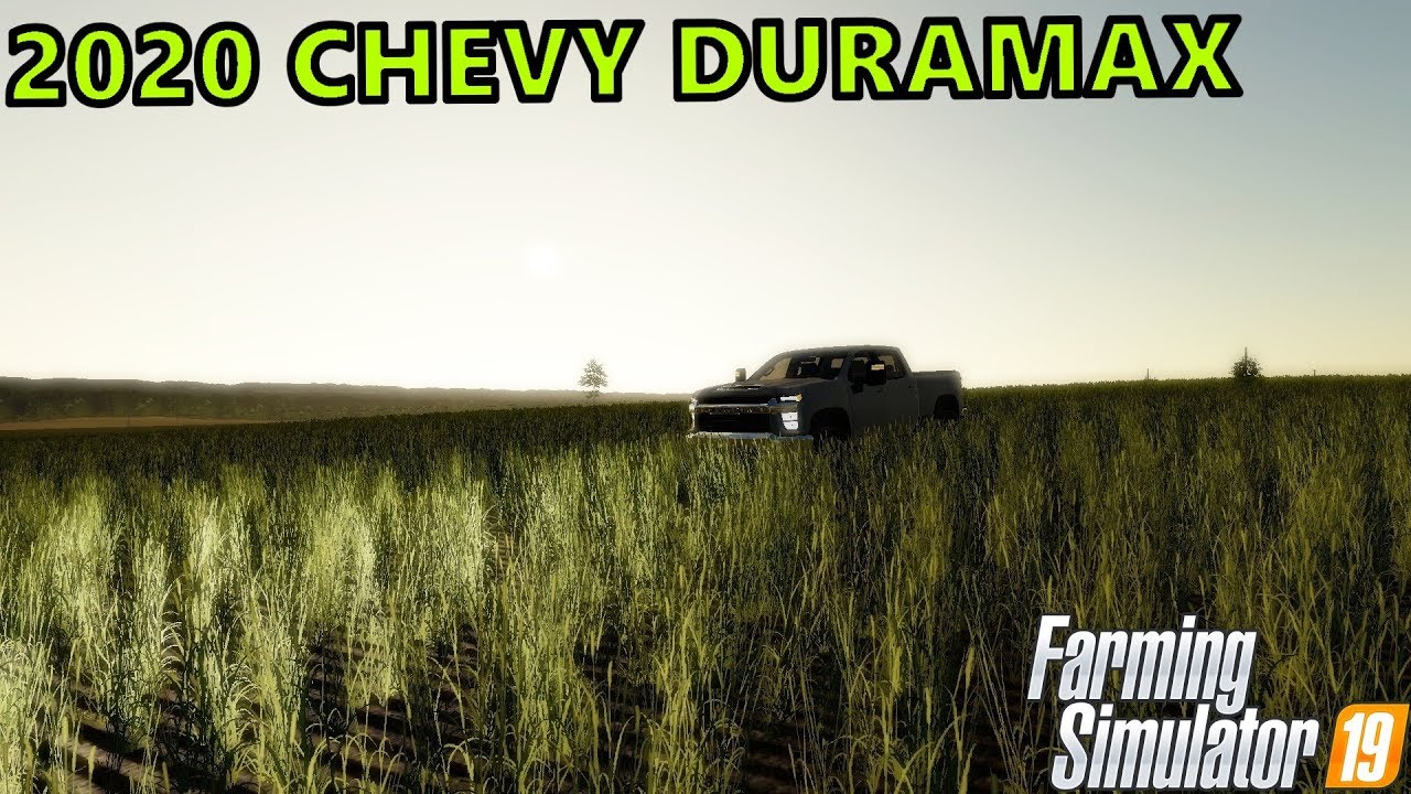 FS19- RELEASING THE 2020 CHEVY 2500HD DURAMAX - YouTube