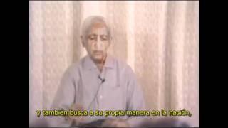 Jiddu Krishnamurti - El Tribalismo del Nacionalismo