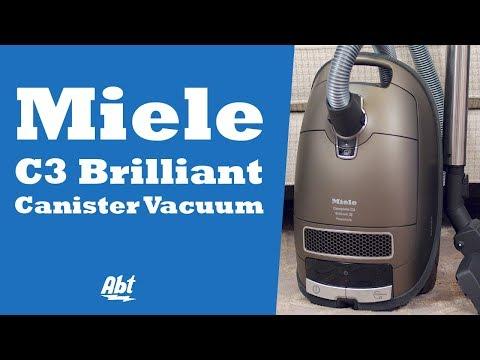 Miele C3 Brilliant Canister Vacuum