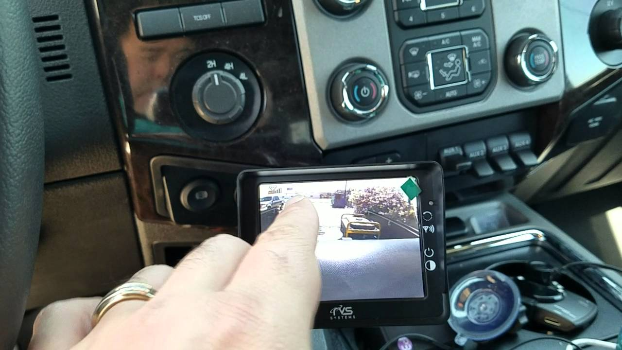 Wireless Backup Camera For Truck >> Wireless Backup Camera for trailer hitching - Review ...