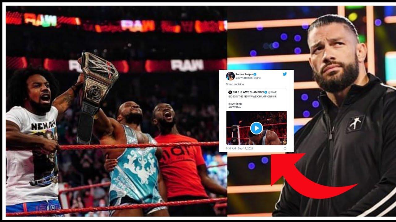 Big E ने इतिहास रचा WWE चैंपियन बनने के बाद Roman Reigns समेत दूसरे सुपरस्टार्स ने क्या-क्या कहा: