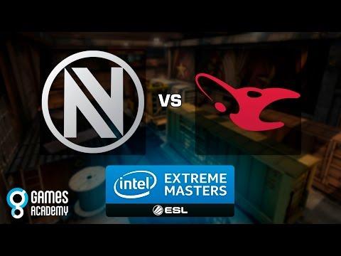 Intel Extreme Masters Gamescom 2015 - EnVyUs vs. mousesports (Train) - Narração PT-BR