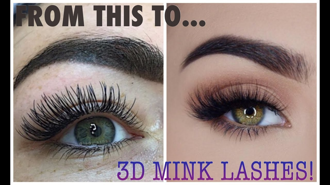 How To Turn Cheap Lashes Into 3d Wispy Mink Lashes Quick Youtube
