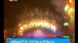 Sidney Australia New Year 's Eve 2017 || Año Nuevo en Sydney Australia