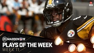Madden 19 - Plays of the Week 11