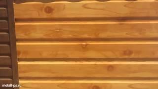 видео Профнастил С 8 - покрытие ECOSTEEL®