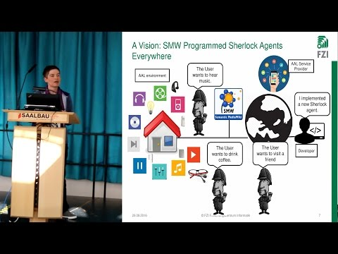 SMW for Programming & Teaching Context-Aware AAL Agents - Nicole Merkle, FZI
