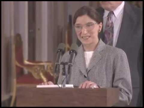 Ruth Bader Ginsburg Swearing-In (1993)
