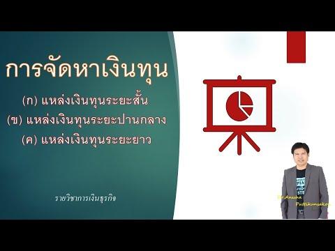 EPE2020-008: การจัดหาเงินทุนทางธุรกิจ
