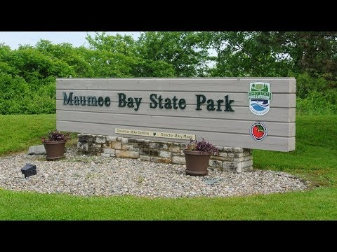 Camping At Maumee Bay State Park, Ohio