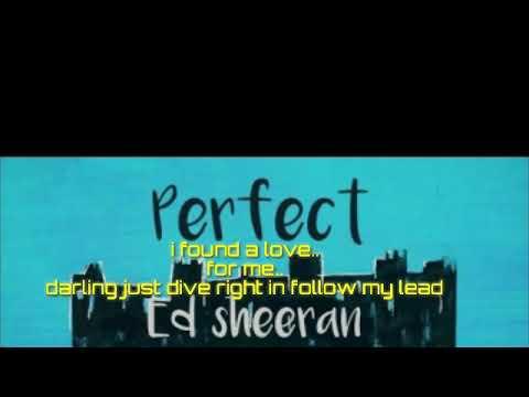 Lirik Lagu Ed Sheeran Perfect