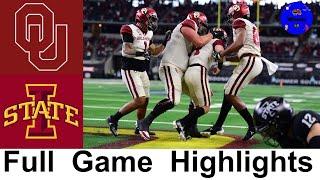 #10 Oklahoma Vs #6 Iowa State Highlights | 2020 Big 12 Championship | College Football Highlights