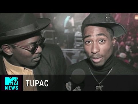 Tupac Talks About Bishop on the Set of JUICE  | Yo! MTV Raps Interview 1993