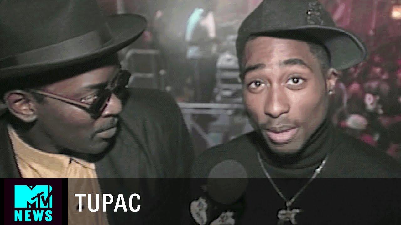tupac talks about bishop on the set of juice yo mtv