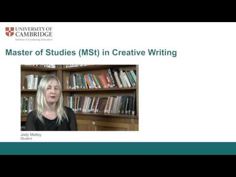 creative writing cambridge