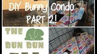 Diy Rabbit Condo (part Ii 2nd Floor!)
