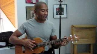 """Larry D (with baritone ukulele) sings Jo Stafford's """"You Belong to Me"""""""