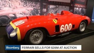 This Ferrari Just Sold for $28 Million at Auction