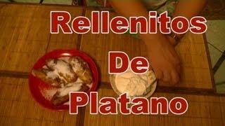 Rellenitos De Platanos - Cocinando Con Gloria - Comida Guatemalteca