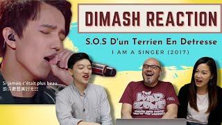 Dimash Reaction S.O.S D'un Terrien En Detresse (I Am A Singer 2017) - Vocal Coach Reacts