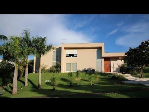 Casa De Luxo No Aldeia Do Vale Em Goiânia  - Completamente Decorado E Mobiliado!