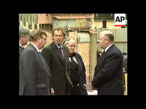 N. IRELAND: BRITISH PRIME MINISTER TONY BLAIR VISITS OMAGH (2)
