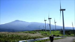 鳥海山をバイクで望んだ!【HD】 ショートムービー