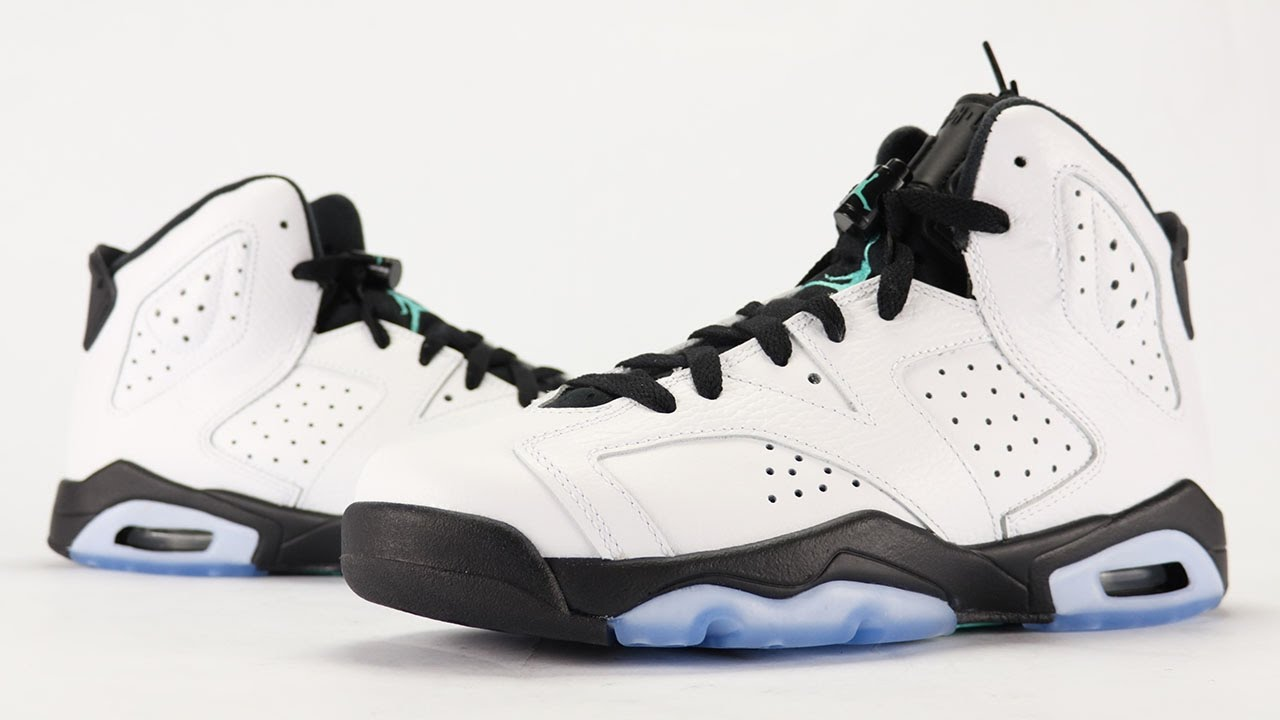 new arrivals d5ffc f0640 Air Jordan 6 Hyper Jade Review