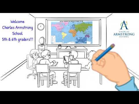 Charles Armstrong School 5th & 6th Grade Welcome Video
