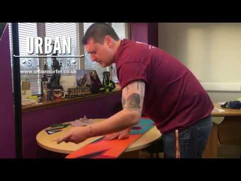 Wax & Edge a Snowboard. Ghetto Style! Urban Surfer How To