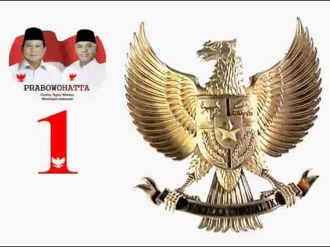 Lagu Garuda Pancasila - seri Prabowo Hatta